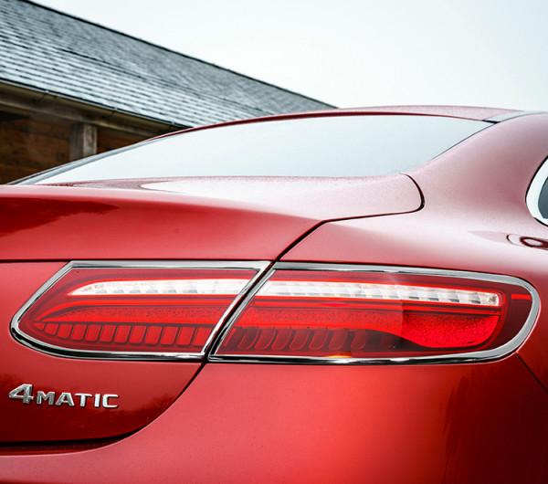 Schätz ® Chrom Rücklichtrahmen Mercedes E-Cabrio A238, E-Coupe C238