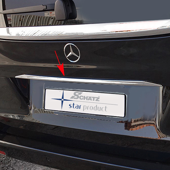 Schätz ® Chrom Heckklappenzierleiste Mercedes V-Klasse/Vito W447 ab 10/2014
