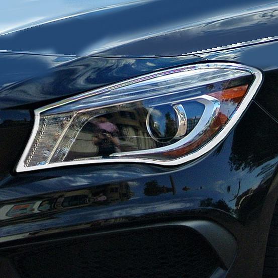 Schätz ® Chrom Scheinwerferrahmen Mercedes CLA C117 ab Bj. 2013
