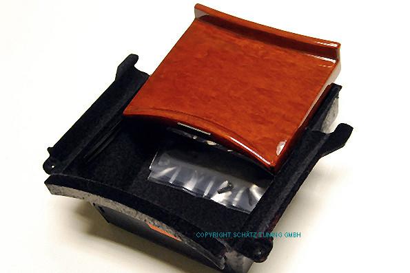 Schätz ® Edelholz Calyptus Ablagefach Mercedes Benz S-Klasse W220 10/1998–08/2005