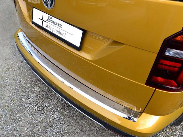 Schätz ® Premium Edelstahl Ladekantenschutz für VW Caddy TÜV Laborbericht