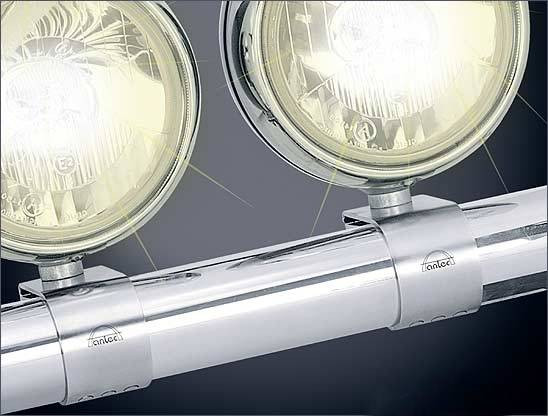 Edelstahl Lampenhalter Edelstahl glänzend Sart 2 Stck.