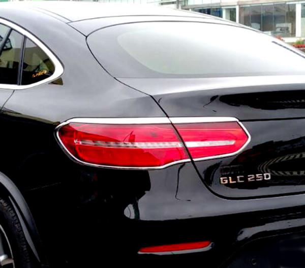Schätz ® Chrom Rücklicht Rahmen für Mercedes Benz GLC C253 Coupé ab 06/2015