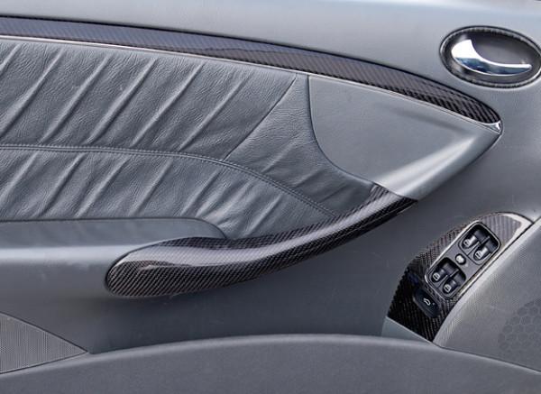 Schätz ® Echt Carbon Inneausstattungsatz 26 oder 27 Teile für CLK W209 Coupe/Cabrio