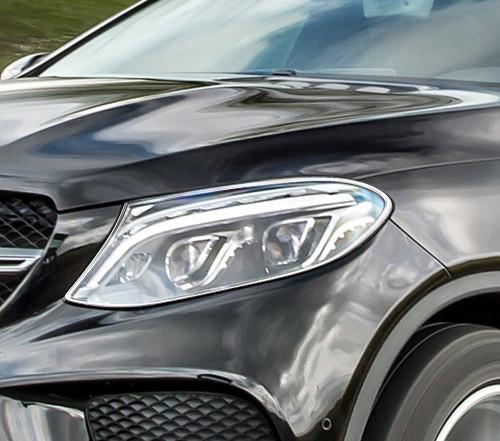 Schätz ® Chrom Scheinwerferrahmen Mercedes Benz GLE Coupe C292 ab 2015