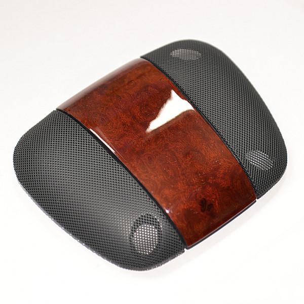 Schätz ® Edelholz Alarmanlagenabdeckung für W221 Edelholz Esche/ Innenaustattung schwarz