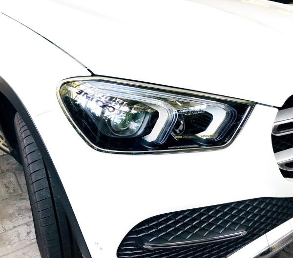 Schätz ® Chrom Scheinwerferrahmen Mercedes Benz GLE W167 ab 2018