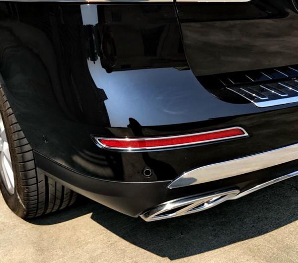 Schätz ® Chrom Reflektorrahmen für Mercedes Benz GLE W166 für Standardstoßstange