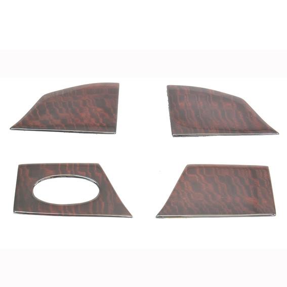 Schätz ® Edelholz Cover für Front und Hecklautsprecher in den Türen für W211 Calyptus
