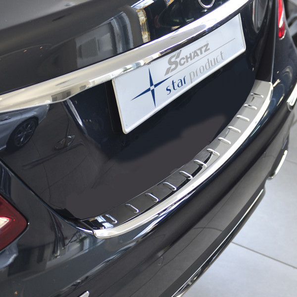 Schätz ® Premium Edelstahl Ladekantenschutz für Mercedes E-Klasse Limousine W213 bis 08/2020