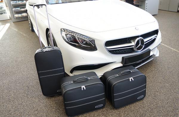 Kofferset für Mercedes S-Klasse Cabrio A217 mit Soundsystem ab 2014