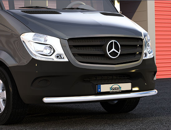 EU-Spoilerschutzrohr 60mm Querrohr 42mm für Mercedes Sprinter W906 ab 09/2013-Copy