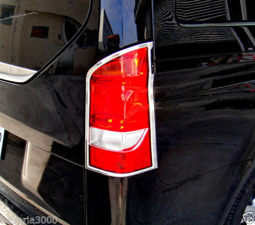 Schätz ® Chrom Rücklichtrahmen Mercedes V-Klasse/Vito W447 ab 10/2014