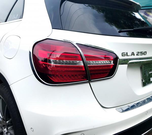 Schätz ® Chrom Rücklichtrahmen Mercedes GLA X156, ab facelift 03/2017