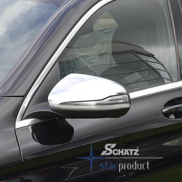Schätz® Chrom Spiegelkappen Mercedes E-Coupe/Cabrio C/A213 , GLC X253 ab 06/2015