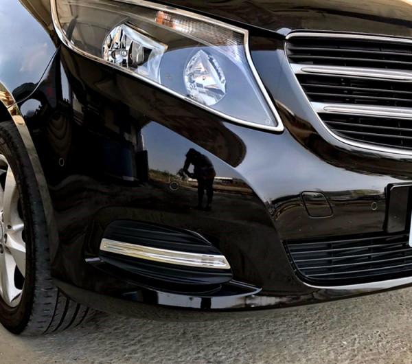 Schätz ® Chrom Stoßstangenleisten Benz V-Klasse W447 ab 10/2014 bis 05/2019