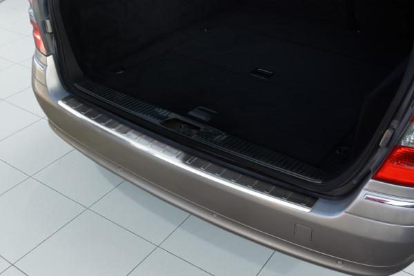 Schätz ® Edelstahl Ladekantenschutz für Mercedes E-Klasse W211 T-Modell Bj. 2002-2009