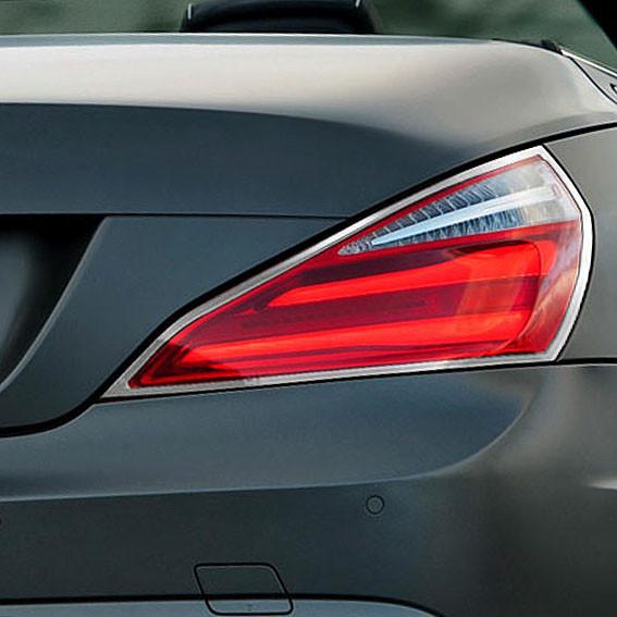 Schätz ® Chrom Rücklichtrahmen für Mercedes SL R231