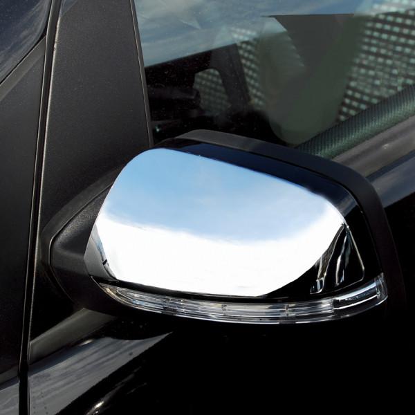 Schätz ® Chrom Spiegelkappen Mercedes A-Klasse W169 + B-Klasse W245 ab 06/2008