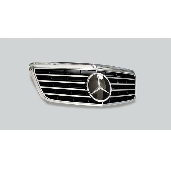 Schätz ® Sportgrill mit Sternlinse für Mercedes Benz S-Klasse W221 2005-2009