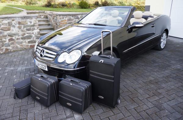 Cabrio Kofferset für Mercedes CLK A208 und A209