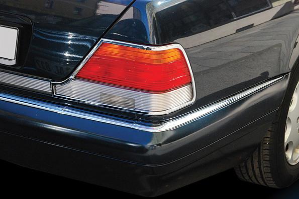 Schätz ® Chrom Rücklichtrahmen für Mercedes W140 Limousine