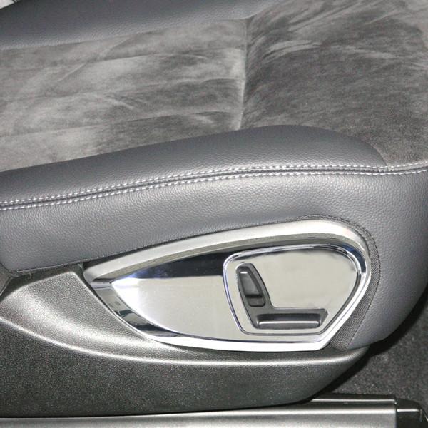 Schätz ® Chrom Sitzverstellungsblende für Mercedes R-Klasse R251 und M-Klasse W164