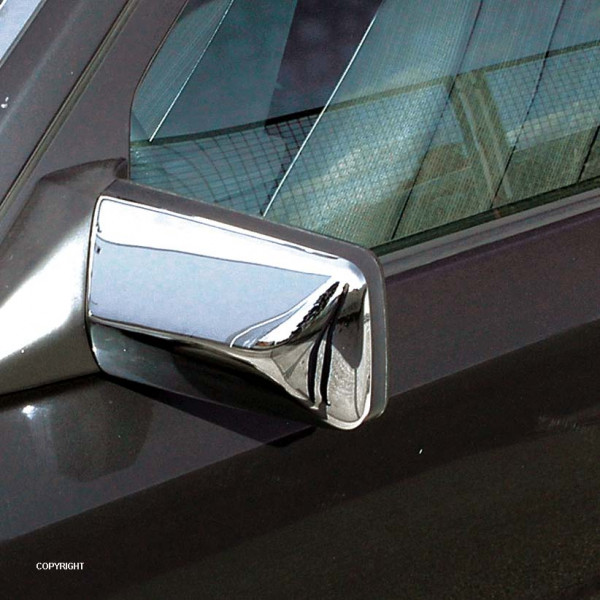 Chrom Spiegelkappen für Mercedes S-Klasse W140 und E-Klasse W210