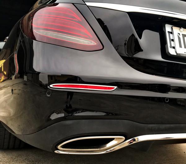 Schätz ® Chrom Reflektorrahmen Mercedes E-Klasse W213 Limousine ab Bj. 2016 bis 2020