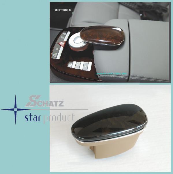 Schätz ® Edelholz Esche schwarz/basaltgrau Telefontastaturabdeckung S-Klasse W221