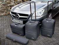 Cabrio Kofferset für Mercedes SLK + SLC R172 ab Bj. 2011