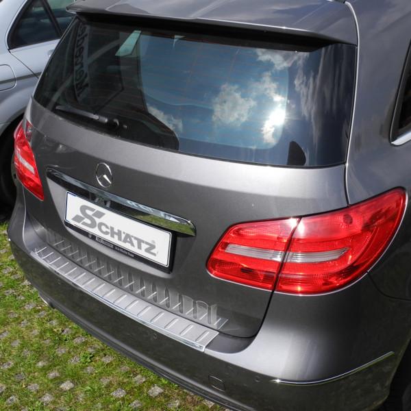 Schätz ® Premium Ladekantenschutz für Mercedes Benz B-Klasse W246 und W242 Elektro Bj. 2011-2017