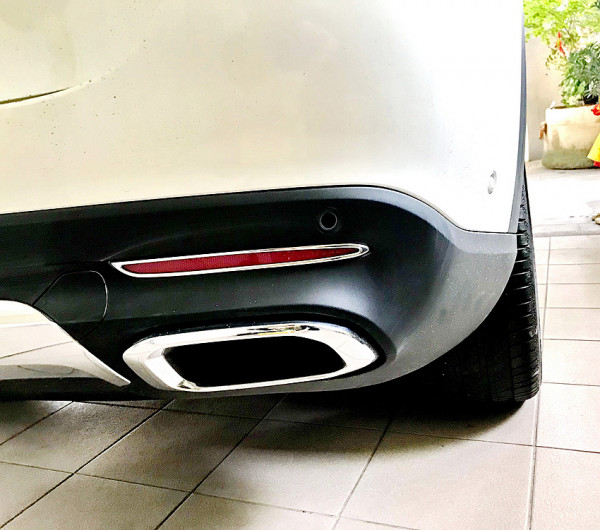 Schätz ® Chrom Reflektorahmen Mercedes Benz GLE W167 ab 2018