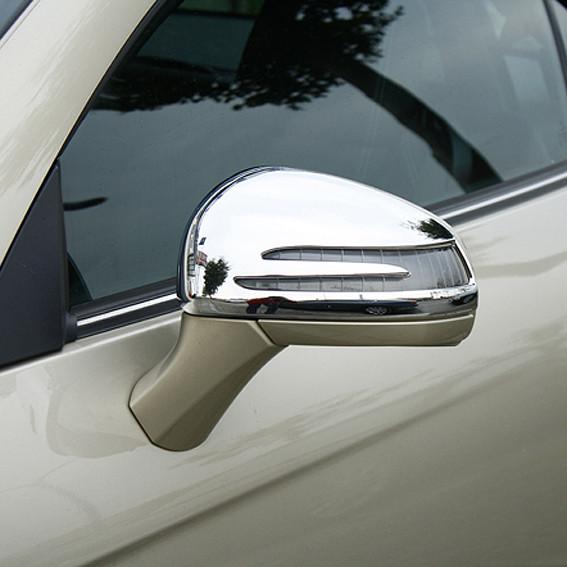 Schätz ® Chrom Spiegelkappen für Mercedes-Benz SLK R172, SLC, SL R231