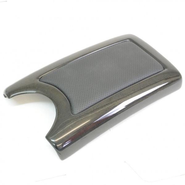 Schätz ® Edelholz Leder Mittelarmlehnendeckel für E-Klasse W211 ohne serienm. Telefon Vogelaugenahorn