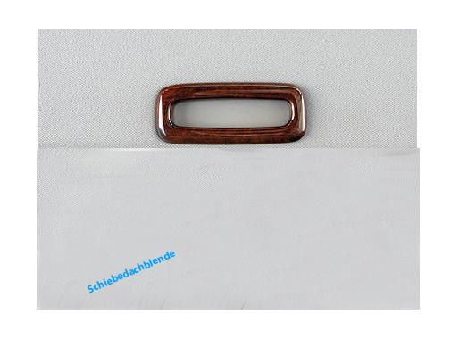 Schätz ® Edelholz Griff für Schiebedachblende für W211 Calyptus linea