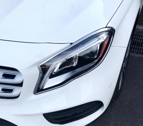 Schätz ® Chrom Scheinwerferrahmen Mercedes GLA X156 ab 02/2017