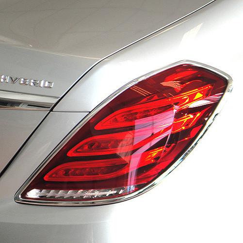 Schätz ® Chrom Rücklichtrahmen für Mercedes S-Klasse Baureihe W222, ab Bj. 06/2013