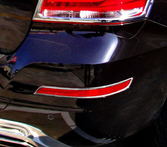 Schätz ® Chrom Reflektor Rahmen für Mercedes Benz GLK ab 05/2012