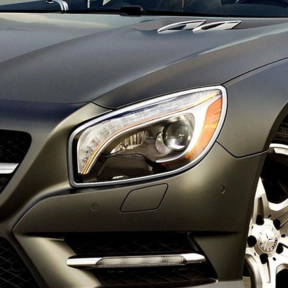 Schätz ® Chrom Scheinwerferrahmen für Mercedes SL R231 2016 bis Bj. 2019