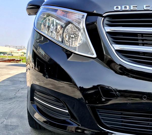 Schätz ® Chrom Stoßstangenleisten Benz V-Klasse W447 10/2014 bis 05/2019