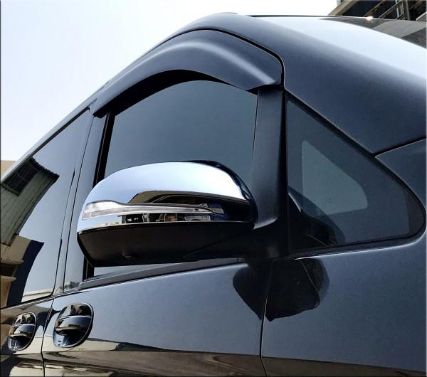 Schätz ® Chrom Spiegelabdeckungen für Mercedes Benz V-Klasse W447 ab 10/2014