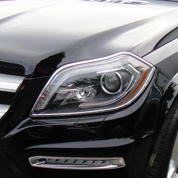 Schätz ® Chrom Scheinwerferrahmen Mercedes GL-Klasse X166 ab Bj. 2012