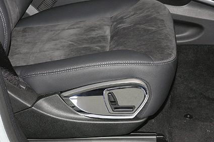 Schätz ® Chrom Sitzverstellungsblende für Mercedes R-Klasse W251 + M-Klasse W164