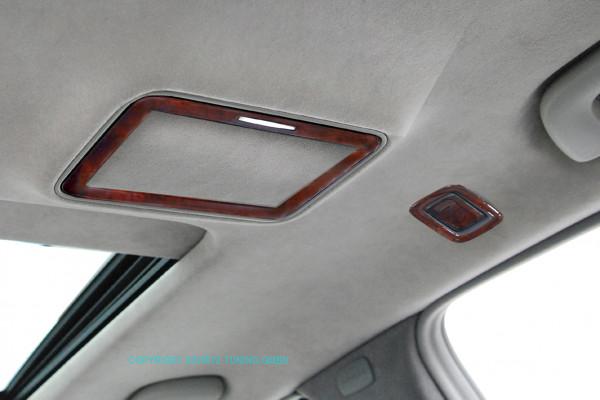Schätz ® Edelholz Kosmetikspiegel für S-Klasse W221 Calyptus, Innenausstattung basaltgrau