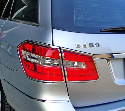 Schätz ® Chrom Rücklichtrahmen Mercedes E-Klasse S212 T-Modell 11/2009 bis 04/2013