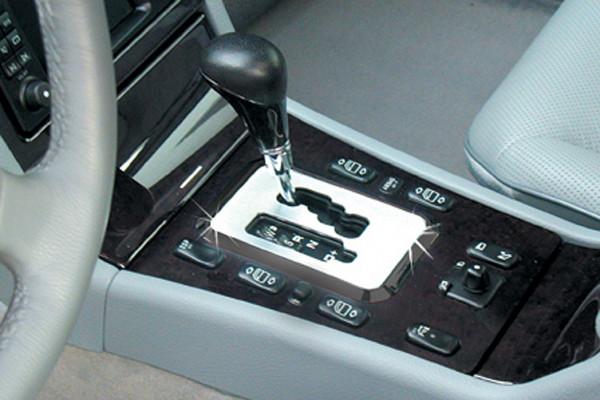 Schätz ® Chrom Schaltkulisse für Mercedes E-Klasse W210 Limousine T-Modell ab 07/1999