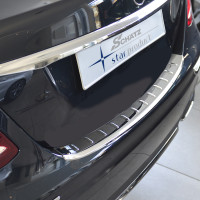 Schätz ® Premium Edelstahl Ladekantenschutz für Mercedes Benz E-Klasse Limousine W213 ab 04/2016