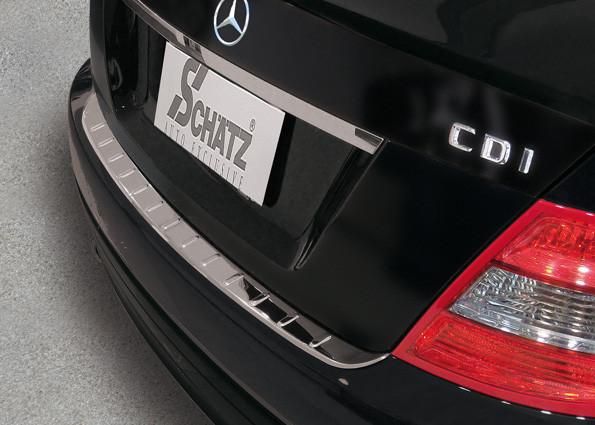 Schätz ® Premium Ladekantenschutz für Mercedes Benz C-Klasse W204 Limousine Bj. 2007-2011