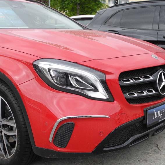 Schätz ® Chrom Stoßstangenzierleisten Mercedes GLA X156 Bj. ab 2014 bis 2017